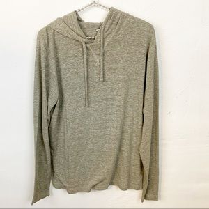 Old Navy l Linen Blend Thin Hoodie